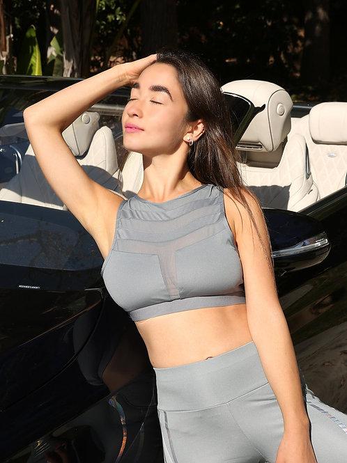 Laguna Sports Bra - Grey