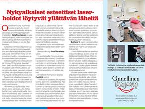 Itä-Savo lehdestä poimittu