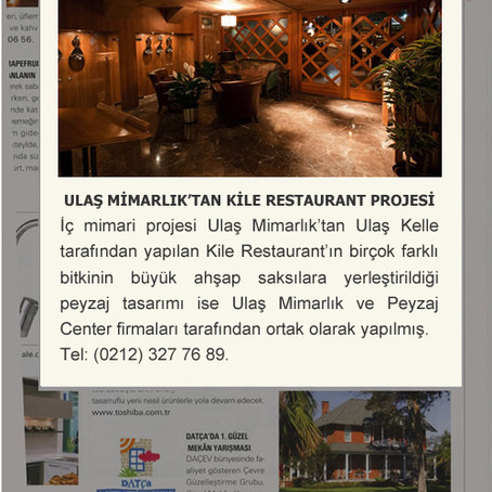 KİLE RESTAURANT INTRODUCTION ON MAISON FRANÇAISE OCTOBER 2010