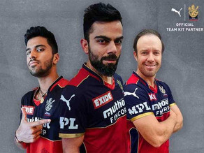 PUMA became the long-term kit partner of RCB from upcoming IPL
