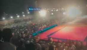 Viewer's stand collapsed at Telangana during a Kabaddi event