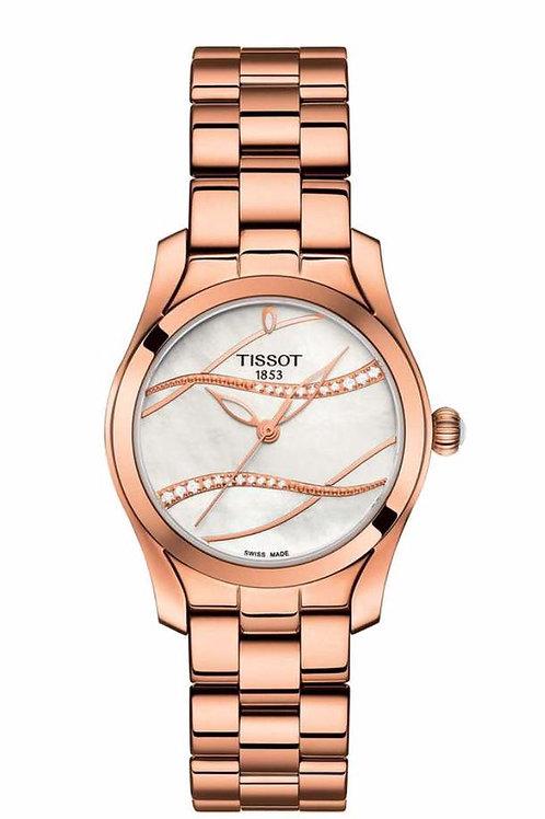 Tissot Ladies' T-Wave Diamond Watch