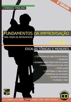 Conrado Paulino  •  Kit Fundamentos de Improvisação - 3 volumes (PDF)
