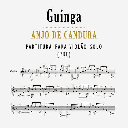Guinga • Anjo de Candura - Partitura para violão solo (PDF)