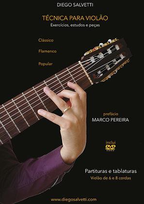 Diego Salvetti • Técnica p/ violão  8 cordas (clássico - flamenco - popular) PDF