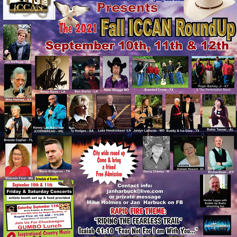 ICCAN Fall Roundup