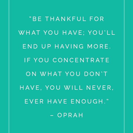 Remaining Grateful