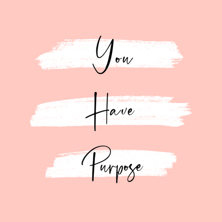 Your Past Can't Take Away From Your Purpose