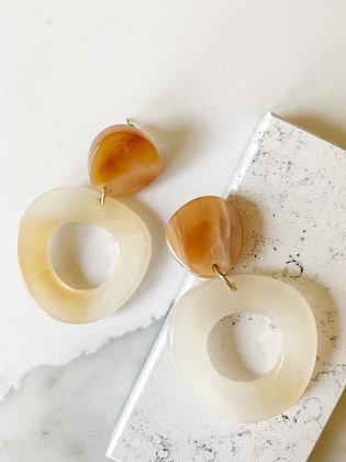 Amber Statement Earrings