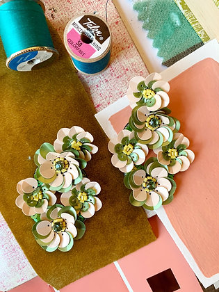 Holly and Ivy Statement Earrings