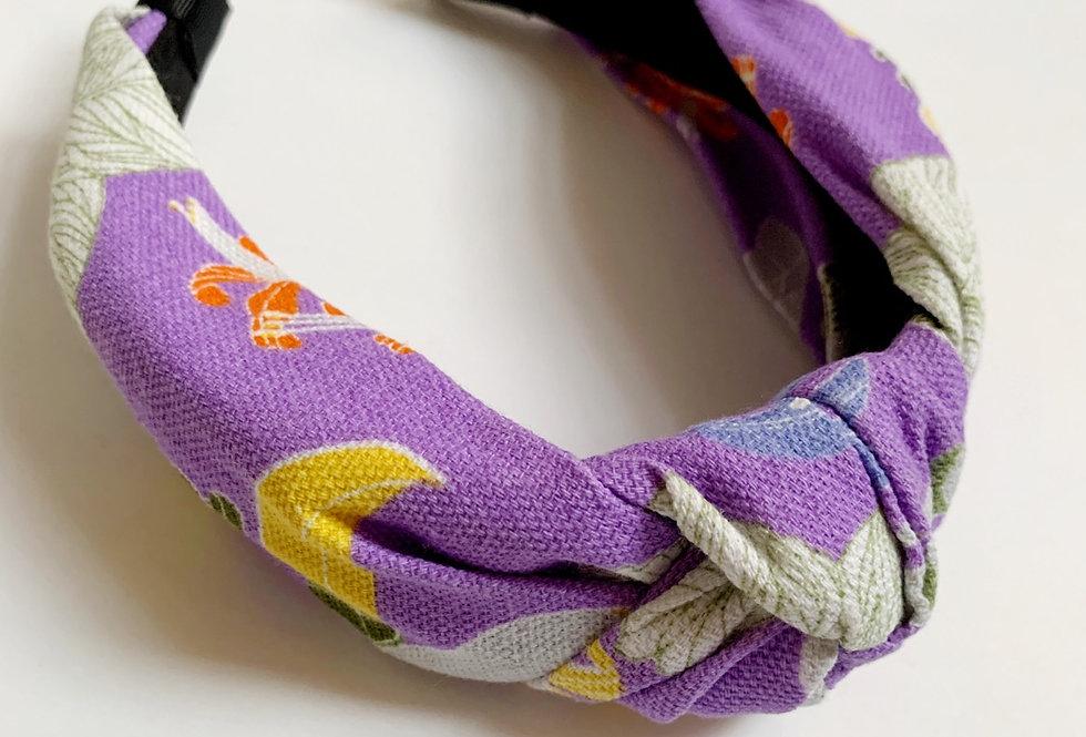 Purple Palms Headband