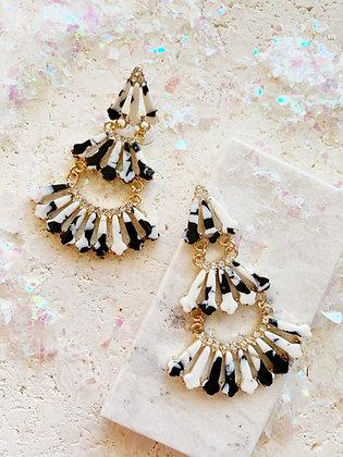 Frosty Statement Earrings