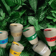 Express Cup Natura - Leafy background