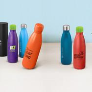 Mirage Powder Coated Vacuum Bottles