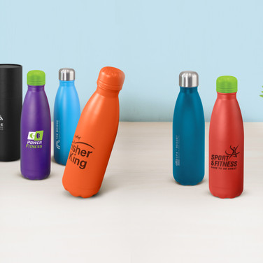 Mirage Powder Coated Vacuum Bottles