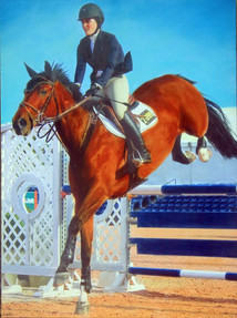 Jumping Competitor  #4