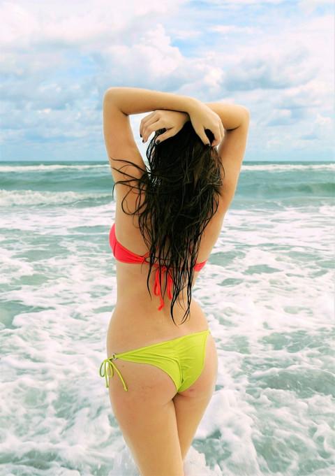 Aphrodite Gazes Out Over the Ocean