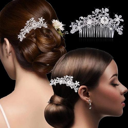 Broche de cheveux mariage