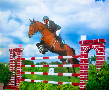 Pegasus on Derby Field III