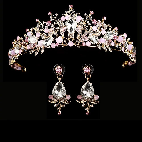 Couronne Crystal rose