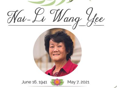 Community honors and celebrates the life of Nai-Li Yee