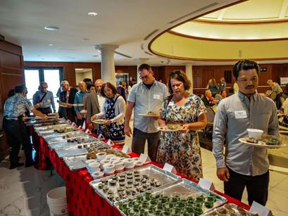 Nathan Yip Foundation celebrates over sushi