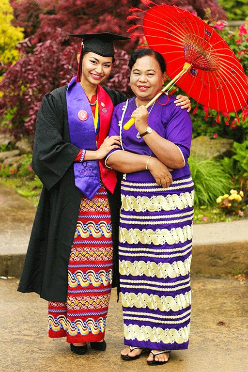 Burmese Woman Mother