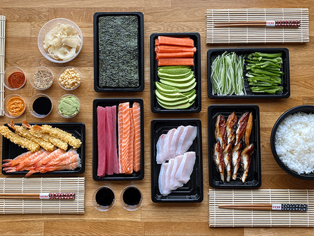 The Sushi Man encourages sushi lovers to create their favorite rolls