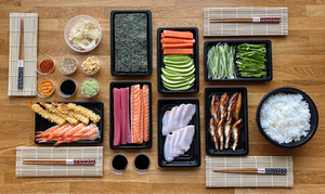 sushi Japanese food make kit