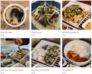 Thai Food Menu Items