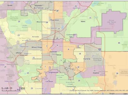The process of redistricting Colorado begins