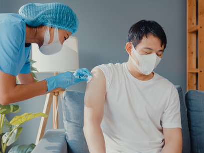 Poor vaccine access and hesitancy in the Asian community