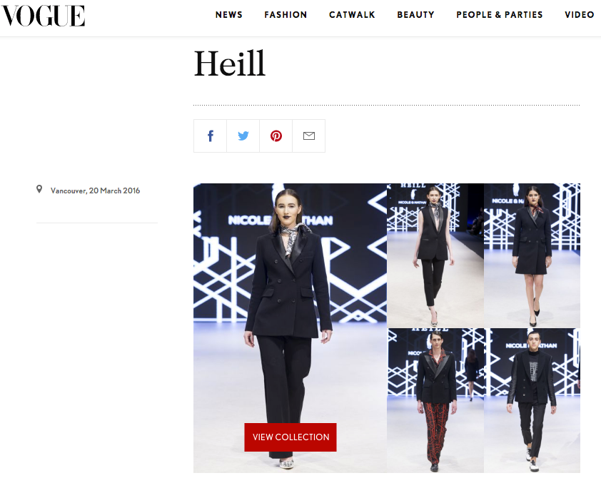 VOGUE UK x HEILL