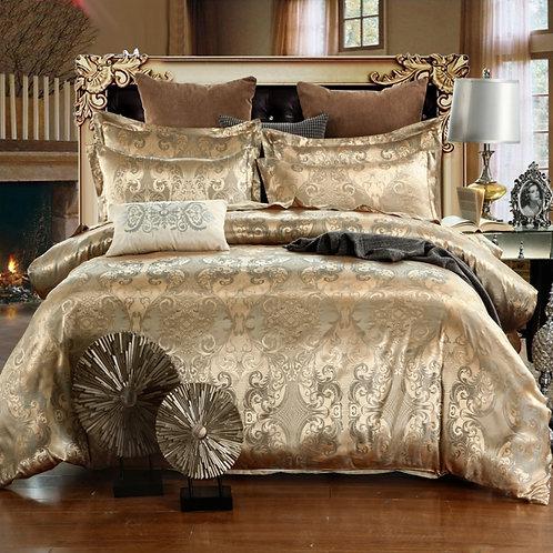 Luxury set, bed linen, duvet cover, pillowcase, 3 pieces (Without a sheet)