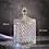Thumbnail: European color crystal glass storage 600ml canned sugar jars diamond candy box