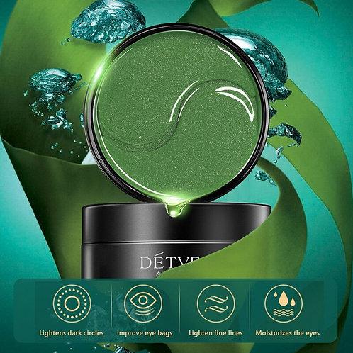 Collagen Seaweed Mask, Natural Moisturizing Gel, Eye Patches, 60 pcs.