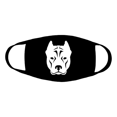 Pittie Committee Cotton Face Mask