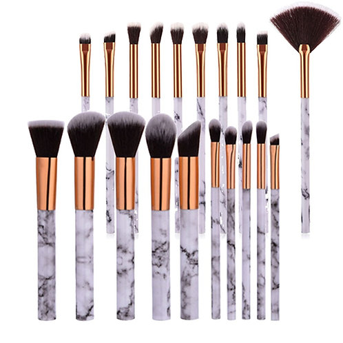 10 pieces. Marble textured advertising brushes