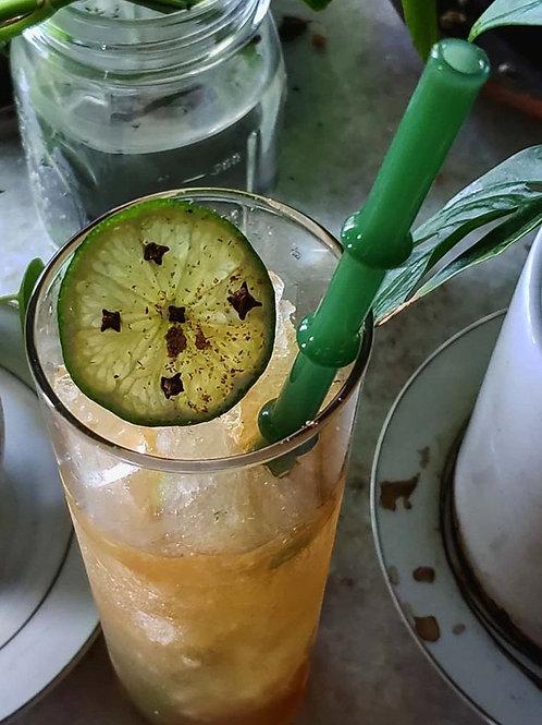 """Custom Straw: """"Tiki Bamboo"""""""