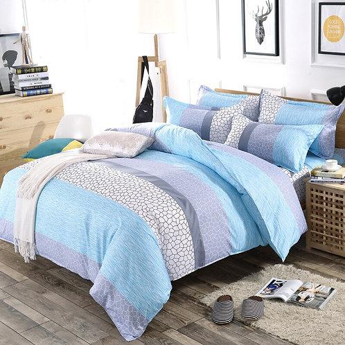 3/4 pcs. / Set, Simple Style, Fashion Stripe Blanket, Cotton Bedding