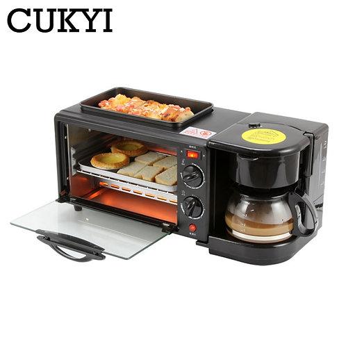 CUKYI 3 in 1 Multifunctional Breakfast Machine