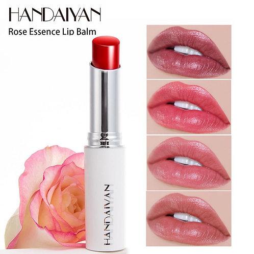 Shiny lipstick, moisturizing lip balm, waterproof