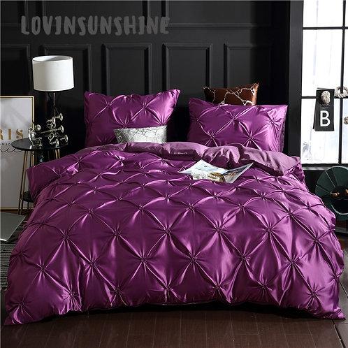 LOVINSUNSHINE Bedding set, silk bed linen