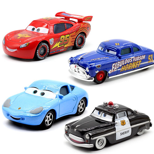 High quality plastic cars toys cartoon models