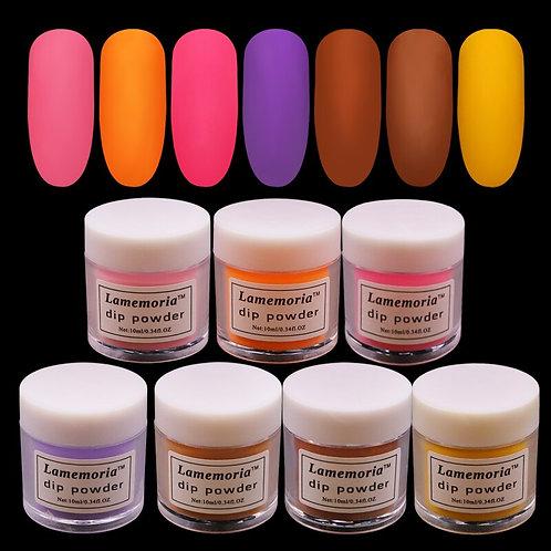 10ml powder for nail art gradient acrylic powder