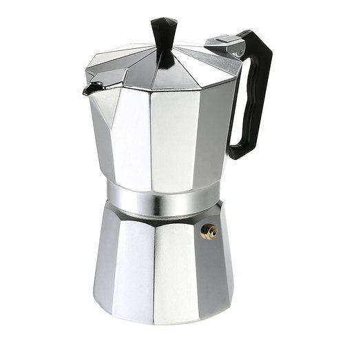 50ml Aluminum Coffee Pot 1 Cup Espresso Coffee Maker Percolator Cooker Moka Pot