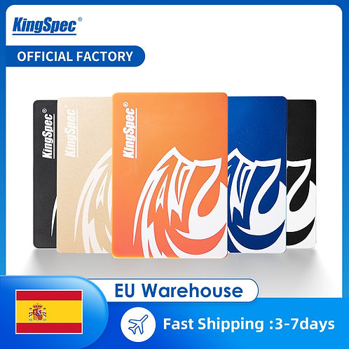 Kingspec SSD HDD 2.5 SATA3 120GB 240 GB 480 GB 1TB 2TB Internal Solid Hard Drive