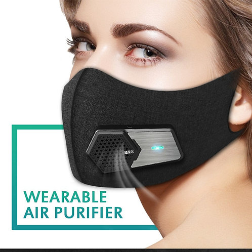 Smart Electric Facial Mask Intelligent Air Purifying Masks Maski for Adults