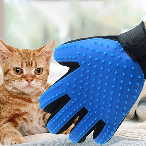 Gloves for pets. Gloves for hair care Gloves for combing hair