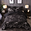 Thumbnail: YuXiu Black Geometric Marble Bedding Set 3 Piece Set